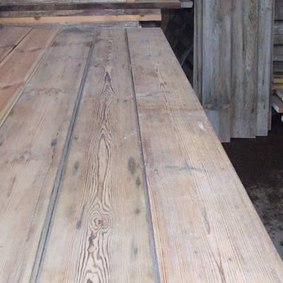 Old pine floor boards 1