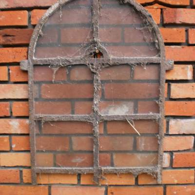 Old cast iron windows 10