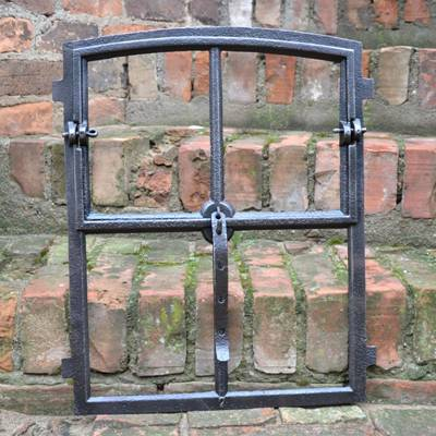 Old cast iron windows 5